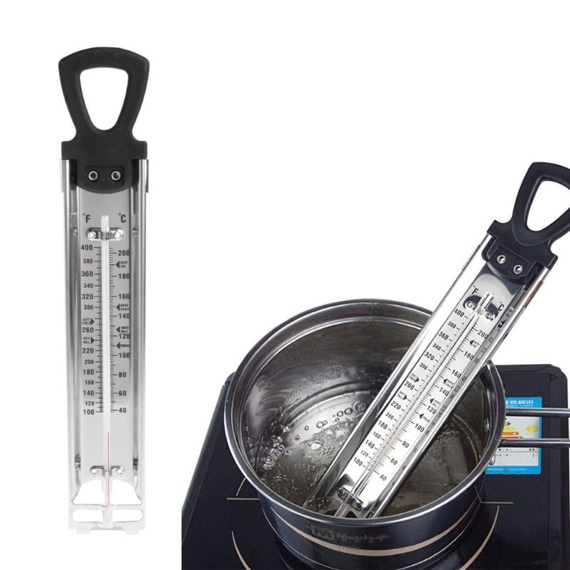 Stainless Steel Kitchen Craft Cooking Thermometer For Sugar Candy Liquid - Smoulder Products