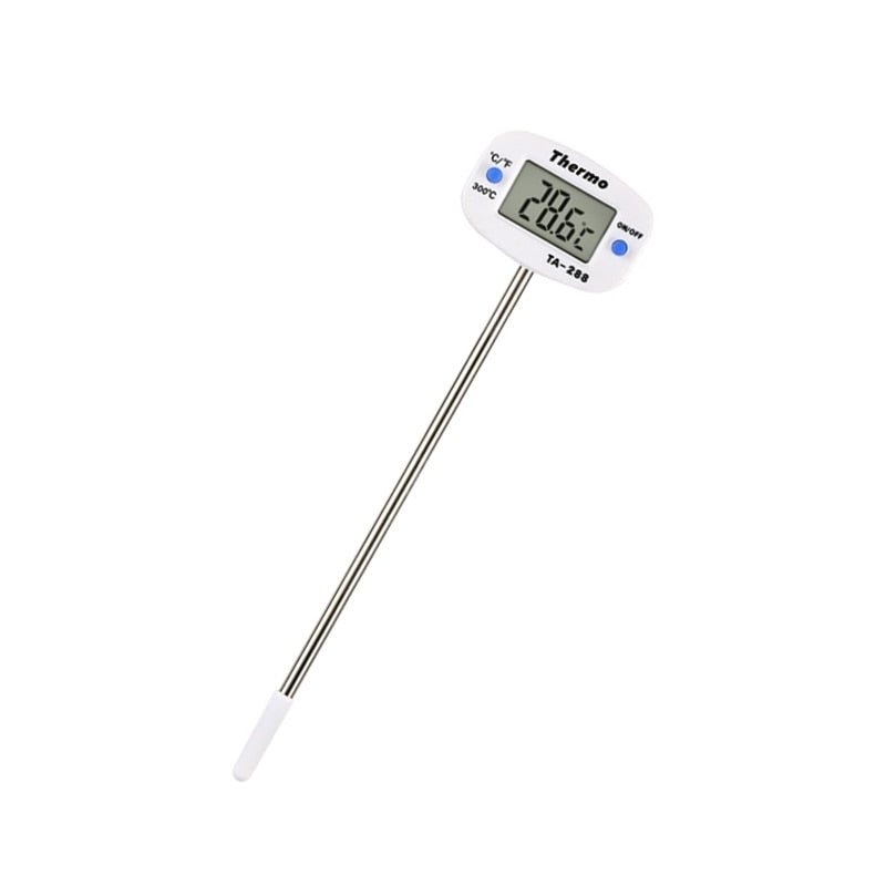 Digital LCD Food BBQ Meat Chocolate Oven Cooking Probe Thermometer TA-288 Kitchen Thermometer - Smoulder Products