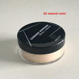 KNIYEA Powder Professional Makeup Loose Powder Matte Bare Face Long Lasting Whitening Skin Finish Transparent Powder with puff - Smoulder Products