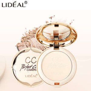 LIDEAL Double Layer Soft Translucent Compact Pressed Powder Face Contour Palette Finishing Powder Setting Makeup Bare Mineralize - Smoulder Products