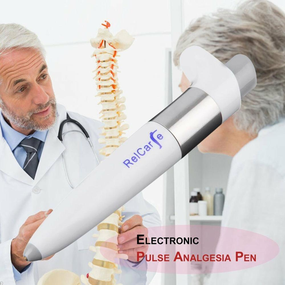 Electronic Pulse Analgesia Pen Pain Relief  Sciatica Joint Portable Handheld Point Massage Pen - Smoulder Products