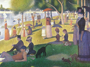 Famous Georges Seurat reproduction Sunday Afternoon on the Island of La Grande Jatte fine handpainted art painting - Smoulder Products