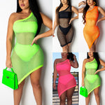 Women's Mesh Bikini Cover Up Swimwear Swim Bathing Suit Summer Beach Dress - Smoulder Products