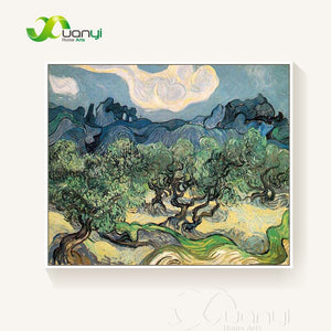 The Olive Trees Landscape Van Gogh Oil Painting Reproductions Abstract Handpainted Painting Wall Pictures For Bed Room Unframed - Smoulder Products