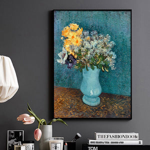 Vincent Van Gogh Flower Paintings Modern Still Life On Canvas Picture Hand Painted Canvas Oil Paintings Reproduction Unframed - Smoulder Products