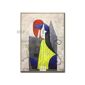 Famous Abstract Paintings Reproduction 100% Hand-painted Oil Painting Canvas Wall Art Abstract Artwork Unframed For Living Room - Smoulder Products