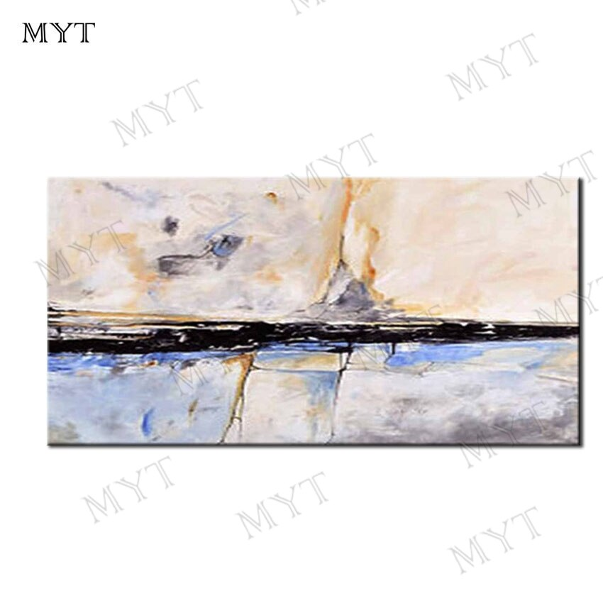 MYT Free Shipping Hot Sale Abstract 100% Handmade Reproduction Oil Painting On Canvas Wall Art Picture For Home Decor No Frame - Smoulder Products