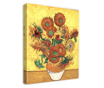 Sunflowers by Van Gogh Classic Oil Paintings Reproduction Oil on Canvas hand Painted Famous Painting Wall Art  for Home Decor - Smoulder Products