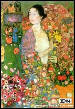 die Tanzerin(The Dancer) - Klimt oil painting reproductions,handpainted top quality,50*80cm - Smoulder Products
