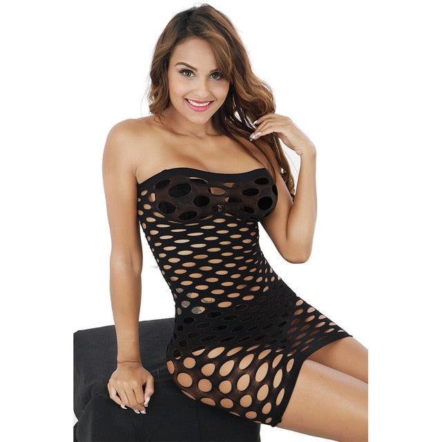 Embroidery Lace Baby dolls Lenceria Sexy Costumes Sexy Sleepwear Women Hot Erotic - Smoulder Products