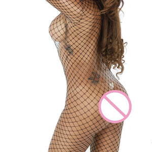 Women Sexy Lingerie Fishnet Crotchless Babydoll Bodysuits Nightwear Underwear Sexy Costumes Fashion Lace Sleepwear - Smoulder Products