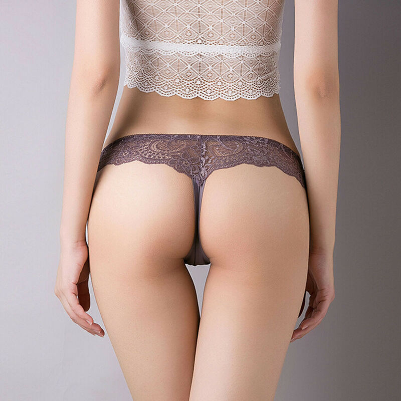 2020 New Sexy Women's Solid Lace Panties Briefs Underwear Lingerie Knickers Thongs G-String Sleepwear Nightwear - Smoulder Products