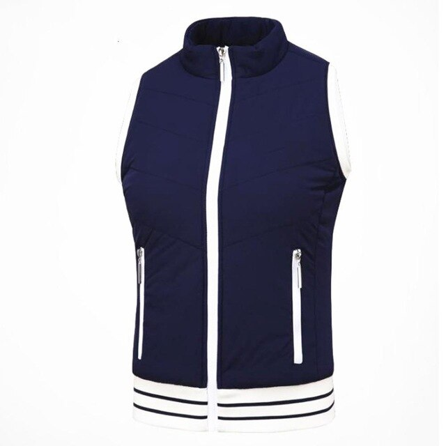 Golf Clothing Ladies Vest Plus Velvet Thick Plush Warm Sports Vest Fashion Design Plush Heating Functional Fabric - Smoulder Products
