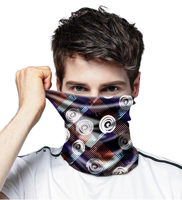 Vintage Motorcycle Sports Bandana Buffe Deporte Cycling Bandanas Tube Headwear Bicycle Moto Face Covers Neck Warmer Scarf - Smoulder Products