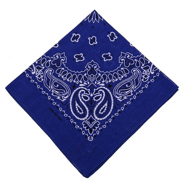 Cute Women Print Bandana Scarf Square Head Scarf Female Motorcycle Headwear Outdoor Cool Activities Riding Collar - Smoulder Products