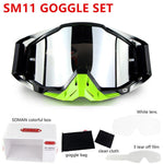 SOMAN Dirt Bike Goggles Mx Motocross Glasses Dustproof Motocross Goggles Windproof Downhill Gafas Lunette Brillen for Motorcycle - Smoulder Products