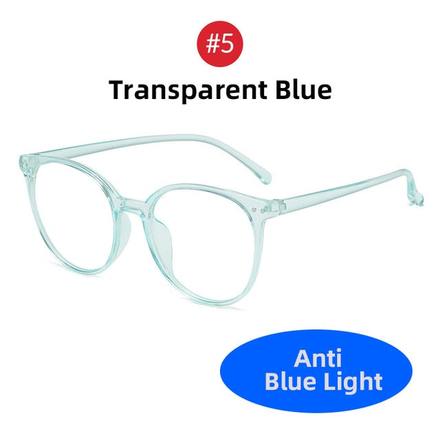 2020 Trends Office Anti Blue Light Oversized Glasses Computer Women Blue Blocking Gaming Big Size Men Eyeglasses Frame - Smoulder Products