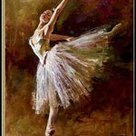 Famous Andrew oil painting ballerina reproductions 100% handpainted canvas art accept custom painting - Smoulder Products