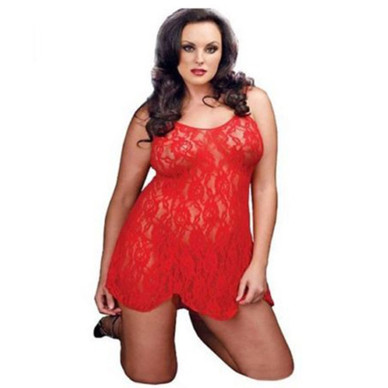 High Quality Mesh and Lace Sexy Costume Lingerie Babydoll Sleepwear clubwear Sexy Pajamas - Smoulder Products