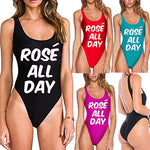Women's Sexy Bikini Rose all day Swimwear Beachwear Bathing Suit One Piece Monokini Swimsuit - Smoulder Products
