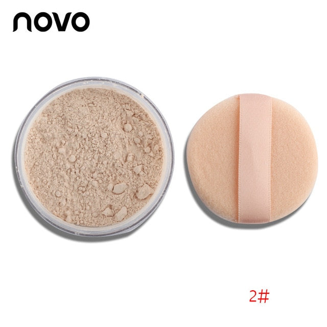 1PC Brand Powder Professional Makeup Loose Powder Matte Bare Face Long Lasting Whitening Skin Finish Transparent Powder Palette - Smoulder Products