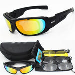 Daisy C5 Motorcycle Glasses Military Goggles Bullet-proof Army Polarized Cycling Sunglasses Hunting Airsoft Eyewear X7 C6 - Smoulder Products