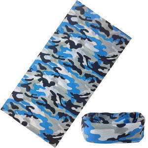 Tactical Motorcycle Neck Gaiter Camouflage Buffs Bandana Variety Sunscreen Headband Scarf Outdoor Headband Camo Balaclava Scarfs - Smoulder Products