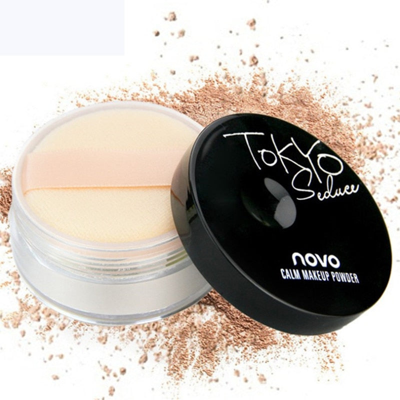 Brand Professional Makeup Loose Powder Matte Bare Face Long Lasting Whitening Skin Finish Transparent Powder Palette Cosmetic - Smoulder Products