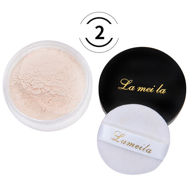 Refreshing Mineral Loose Powder Honey Natural Bare Radiance Concealer Light and Delicate Long Lasting Full Cover Makeup TSLM1 - Smoulder Products