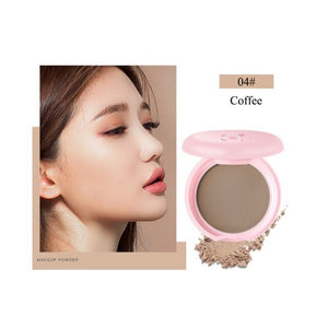 Bare Mineralize Cosmetic Soft Translucent Compact Pressed Powder Face Contour Palette Finishing Powder Setting Makeup W1 - Smoulder Products