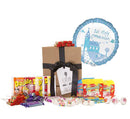 First Communion Blue Balloon & Swizzels Gift Set