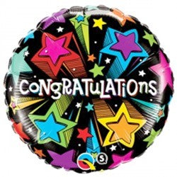 Congratulations Star Balloon Bouquet