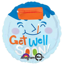 Get Well Soon Fever Balloon Bouquet