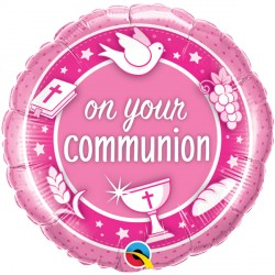 On Your Communion Balloon Bouquet