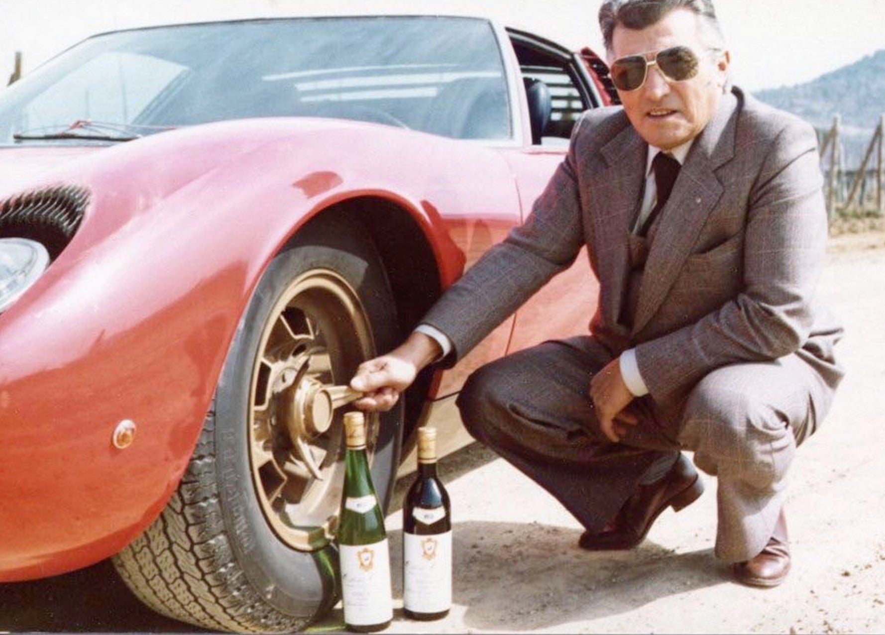 lamborghini founder wine