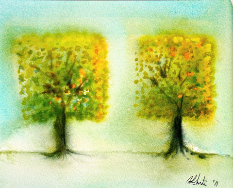 Two Square Trees