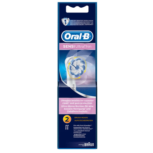 Oral-B Sensi ULTRA THIN Replacement Heads 2's - image