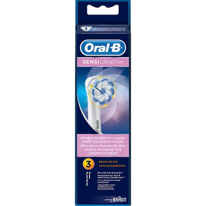 Oral-B Sensi ULTRA THIN Replacement Heads 3's - image
