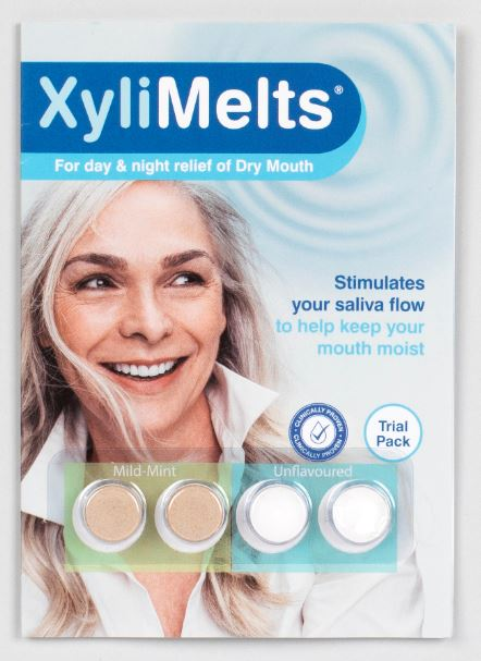 XyliMelts for Dry Mouth TRIAL PACK 4 Discs