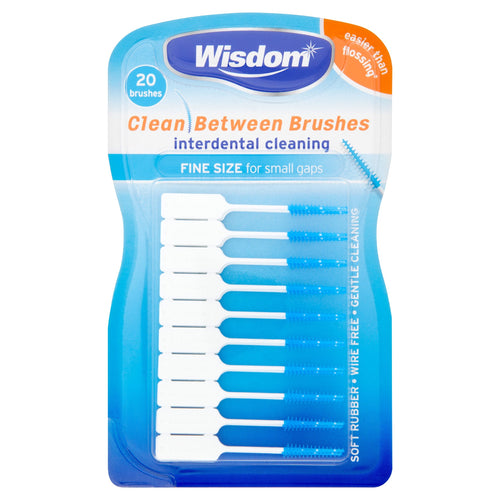 Wisdom Interdental Brushes Blue - Image