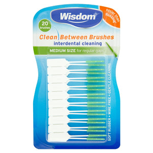 Wisdom Interdental Brushes Green - Image