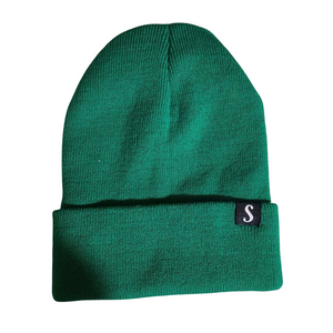 Navy Silk Scrunchie