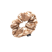 Load image into Gallery viewer, White Silk Scrunchie