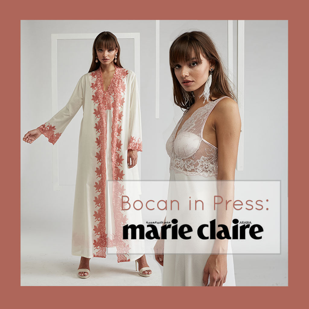 Bocan in Press - Marie Claire Arabia