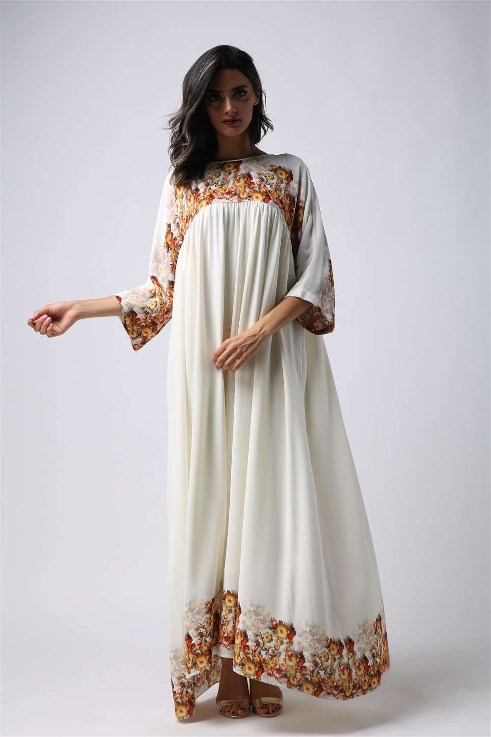 Nightgown - Autumn - Empire Seam Cut