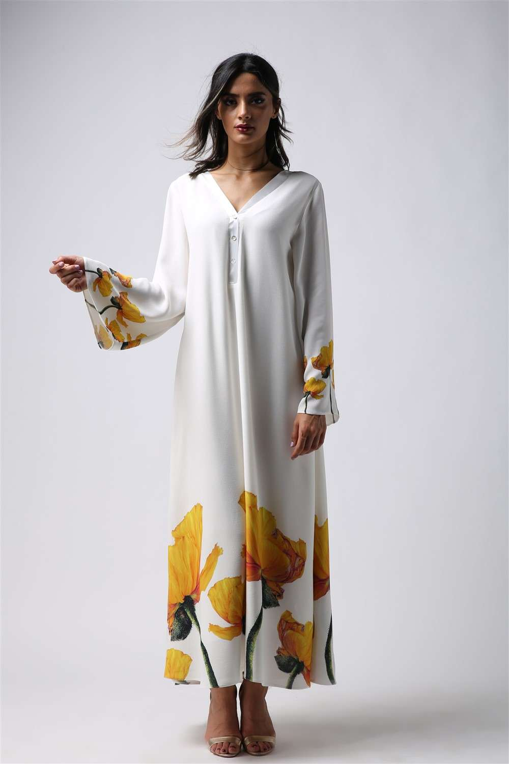 Nightgown - Yellow Tulip - Assemblied Arm