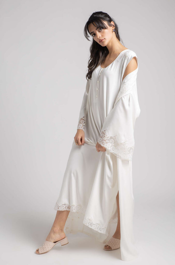 Robe Set - Off White Sunkissed