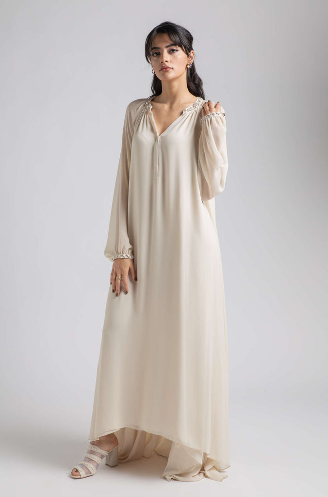 Silk Chiffon Nightgown Honey - Cinderella