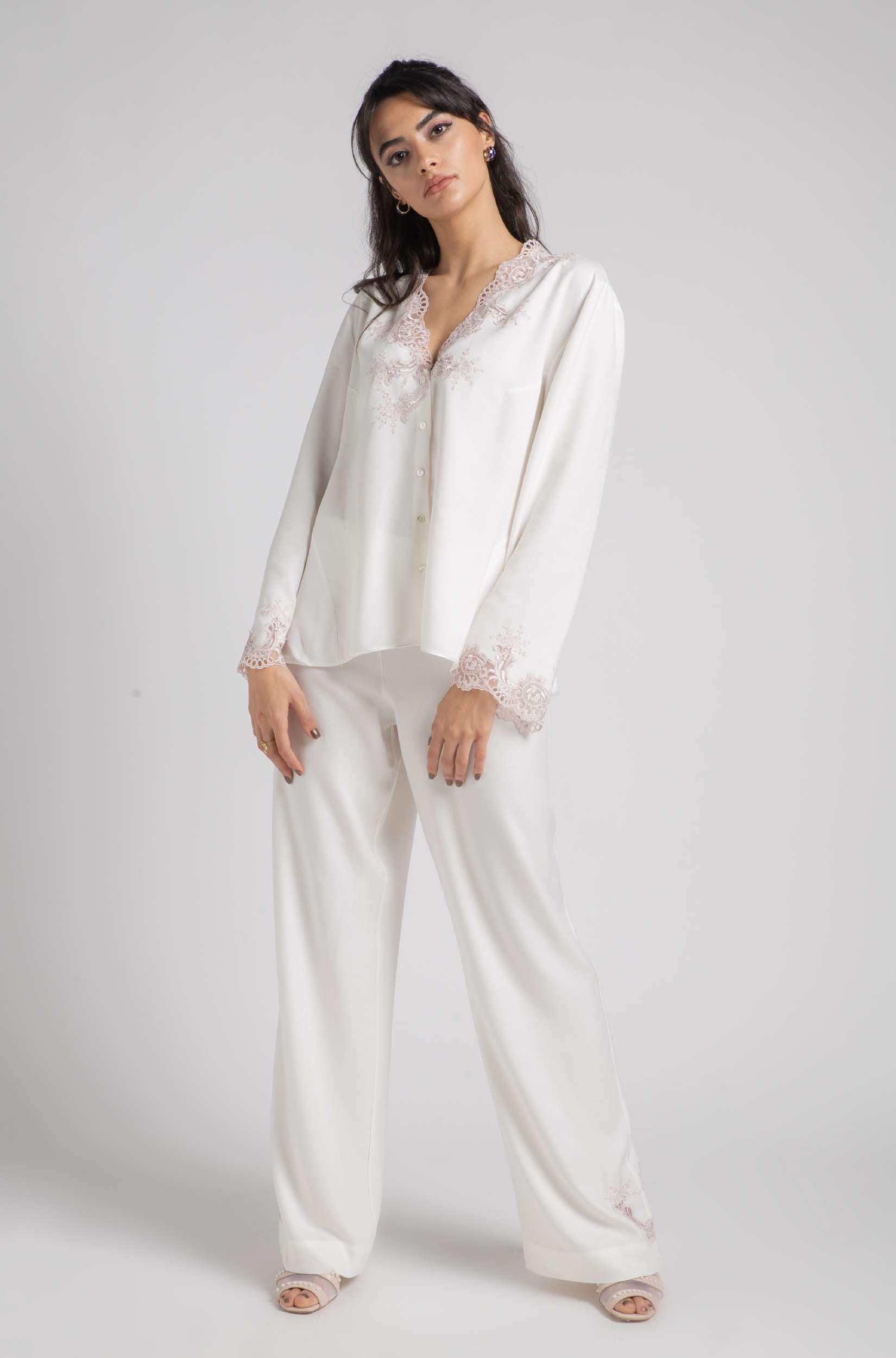 Pajama - Off White Luna - Powder