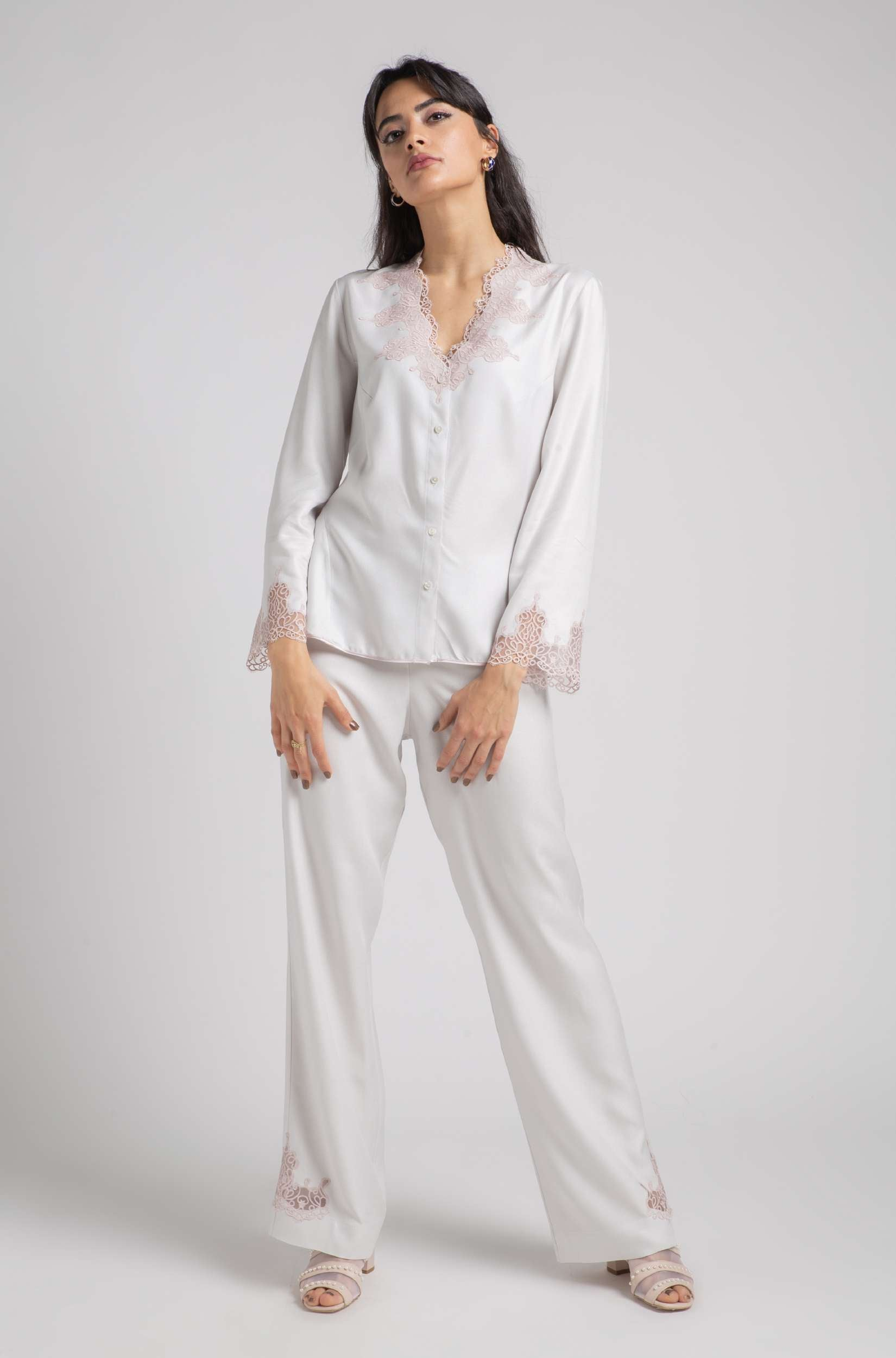 Pajama - Light Grey Roja - Powder